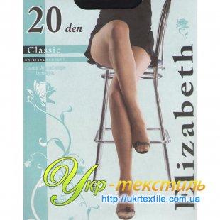 Колготы Classic 20 den оптом, оптовая продажа колгот Elizabeth
