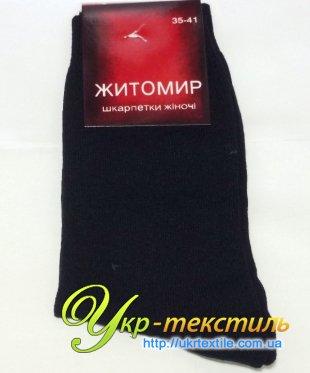 носки житомир (стрейч) чёрные женские