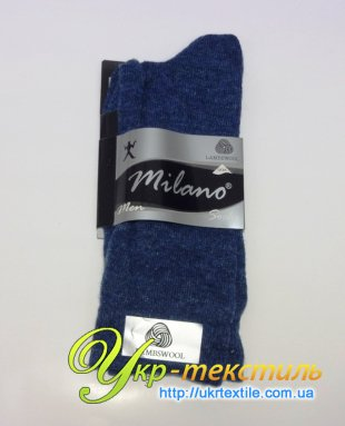 """зимние мужские носки ТМ """"Milano"""""""