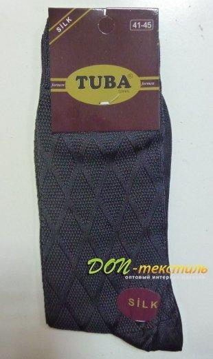 """Носки мужские """"TUBA"""" шелк"""
