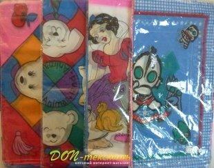 Платочки носовые детские 02212