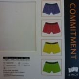 Трусы мужские COMMITMENT 004