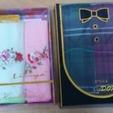 Платочки носовые Подарочные коробка
