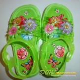 Сандалии детские цветочки  (девочка  ) 223 Д