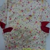 Пижама детская бегемотики