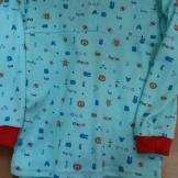 Пижама детская бегемотики начес