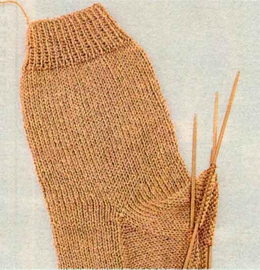 Вязание спицами носков - уроки для начинающих