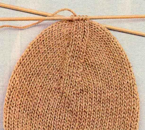 Вязание носков - вывязывание